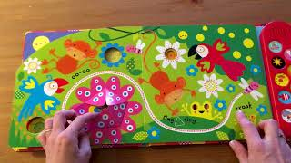 Babys Very First Touchy-feely Musical Play Book - Usborne