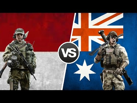 Indonesia Vs Australia - Military Power Comparison 2017