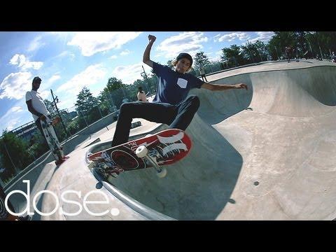 Curren Caples & Greyson Fletcher Skate NYC