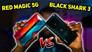 ZTE nubia Red Magic 5G vs Xiaomi Black Shark 3 - Which Gaming Phone should you buy?