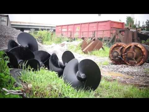 Фундамент под ангар для испытания вагонов