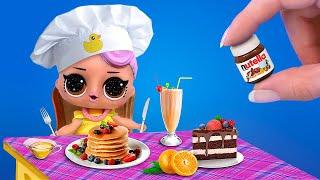 Idées De Nourriture Et Boissons En Miniature / Cuisine Miniature Pour De Vrai