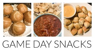 GAMEDAY SNACKS | FOOTBALL & TAILGATE RECIPES