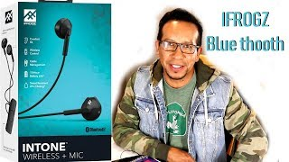 IFROGZ intone wireless mic unboxi and review.