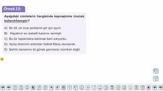 Eğitim Vadisi TYT Türkçe 10.Föy Ses Bilgisi - 2 Konu Anlatım Videoları