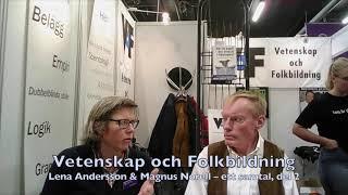 VoF Bokmässan 2017 – Del 2, Lena Andersson & Magnus Norell