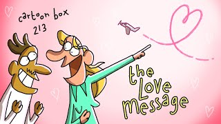 The Love Message   Cartoon Box 213   by FRAME ORDER   Love and Dating Cartoons