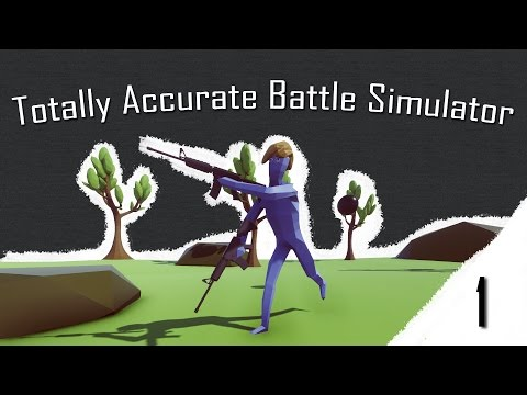 Trump v boji ! Totally Accurate Battle Simulator #1