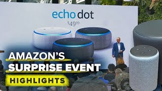 Amazon's surprise Echo event highlights: New Echo's, Fire TV DVR and more