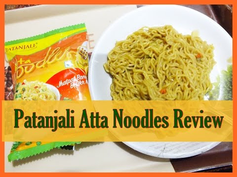 , title : 'Patanjali Atta Noodles Review | Atta Noodles'