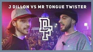 J DILLON VS MR TONGUE TWISTER | Don