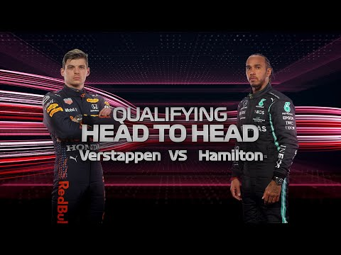 F1第7戦フランスGP(ル・キャステレ)のマックス・フェルスタッペンとルイス・ハミルトンのオンボード比較映像
