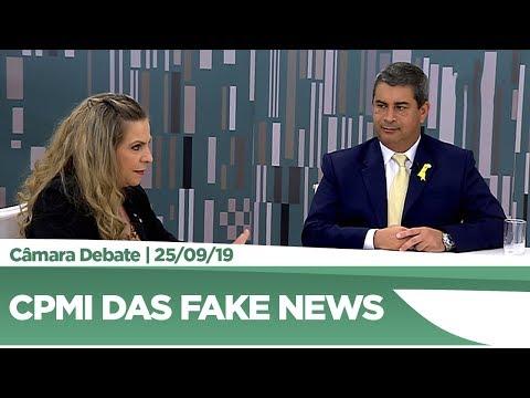 Deputados avaliam primeira reunião da CPMI das Fake News