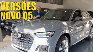 Conheça as versões do novo Audi Q5