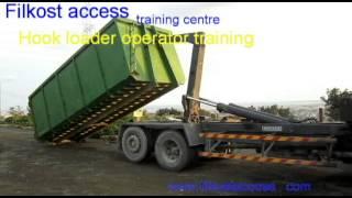 Hook loader operator training
