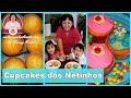 Cupcakes sabor baunilha dos meus Netinhos | Nancy Neide