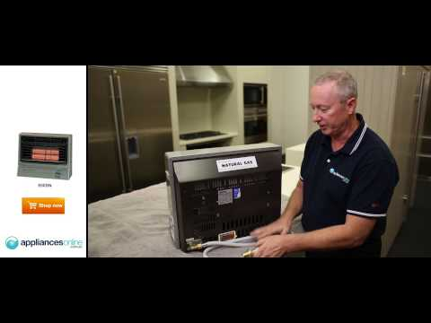 Rinnai Econoheat Natural Gas Heater 850SN reviewed by product expert - Appliances Online