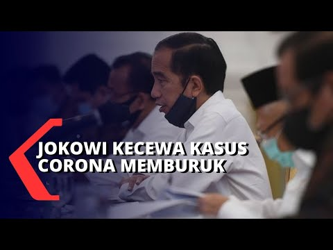jokowi kecewa kasus covid- di indonesia memburuk