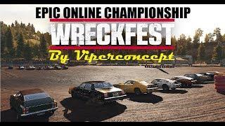 Wreckfest Epic Online Championship: SIGN IN!