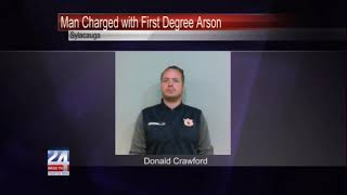 Man Charged with First Degree Arson in Sylacauga