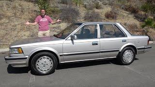 The 1986 Nissan Maxima Was a High-Tech 1980s Sport Sedan