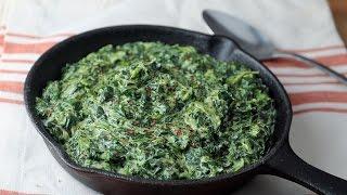 Keto Recipe - Easy Creamed Spinach