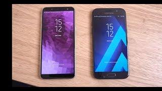 Samsung Galaxy J6 vs Galaxy A5 2017 - Speed Test!