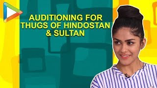 Mrunal Thakur REVEALS about her audition for Thugs Of