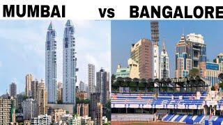 preview picture of video 'BANGALORE vs MUMBAI Full View Comparison (2018) |Plenty Facts|Bangalore City vs Mumbai City |Mumbai'