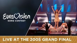Helena Paparizou   My Number One (Greece) Live   Eurovision Song Contest 2005