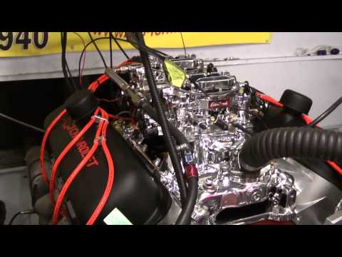 454 BBC Crate Engine With Dual Quads