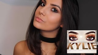 Kylie Jenner Royal Peach Palette Inspired Makeup Look  Nicole Corrales