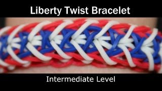 Rainbow Loom® Liberty Twist Bracelet