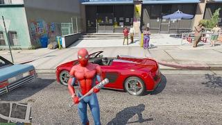 GTA 5 Mod - Spider-Man: Homecoming Trượt Ván Mạo Hiểm Trong GTA V