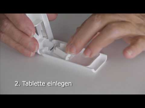 19. Tablettenteiler