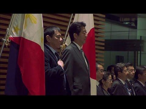 Ιαπωνία: Διαβεβαιώσεις από Ντουτέρτε για τήρηση του διεθνούς δικαίου – world