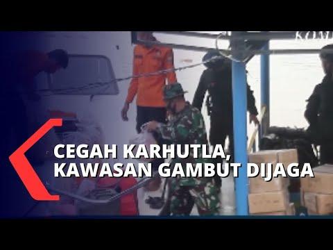 50 Personel Diterjunkan Amankan Lahan Gambut untuk Cegah Karhutla