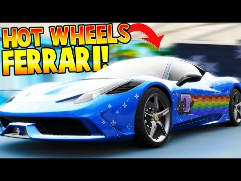 COLLECTING HOT WHEELS CARS - Forza Horizon 3 Hot Wheels DLC Gameplay Best Hot Wheels Racing Toy Game