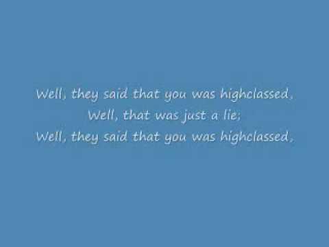 Elvis Presley Hound Dog w/ lyrics