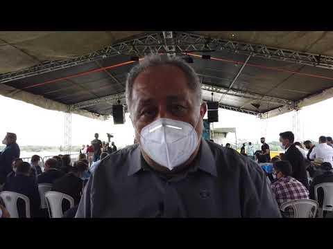 Luiz Claudio participa inauguração da Ponte do Abunã