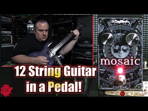 Digitech Mosaic : 12 String Guitar Pedal : Demo & Review