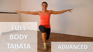 25 Minute Intense Full Body Tabata Workout – Cardio & Strength Routine At Home With No Equipment by FitnessType