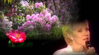 Anne Murray in the garden