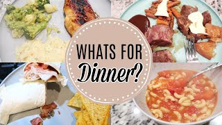 WHATS FOR DINNER 2020 | QUICK AND EASY DINNER IDEAS | BUDGET FRIENDLY DINNERS