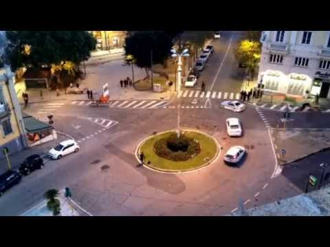 "Bastione di Saint Remy di Cagliari "" Time Lapse """