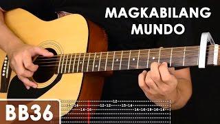 Magkabilang Mundo - Jireh Lim Guitar Tutorial (includes chords, strumming, adlib - solo lesson)