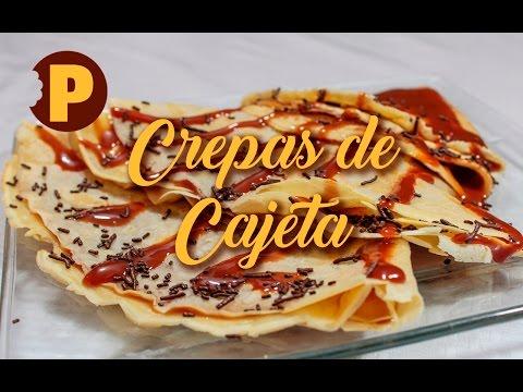 Vídeo Crepas con Cajeta