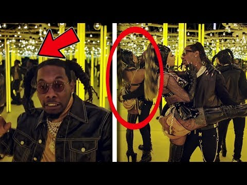 """10 Secrets You Missed In """"Offset - Clout ft Cardi B"""""""