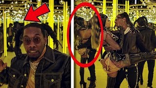 "10 Secrets You Missed In ""Offset   Clout Ft Cardi B"""