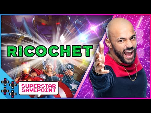 What recent movie made RICOCHET cry?: Marvel Ultimate Alliance 3 – Superstar Savepoint
